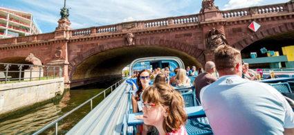 Crociere e tour in barca sulla Sprea