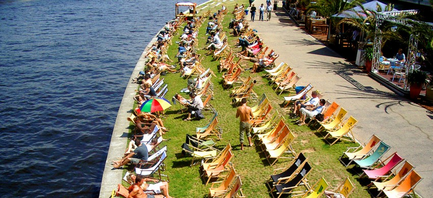 Beach Bar a Berlino